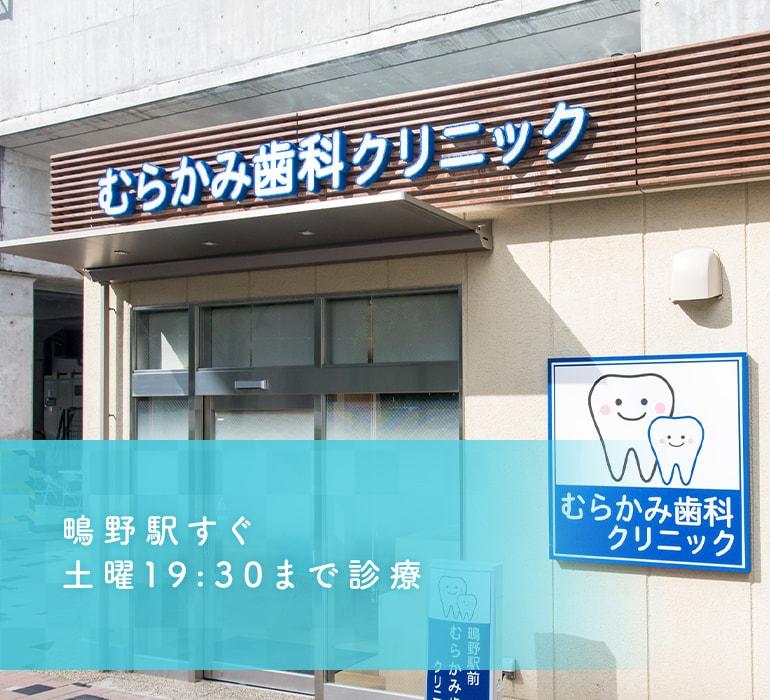 鴫野駅すぐ土曜19:30まで診療