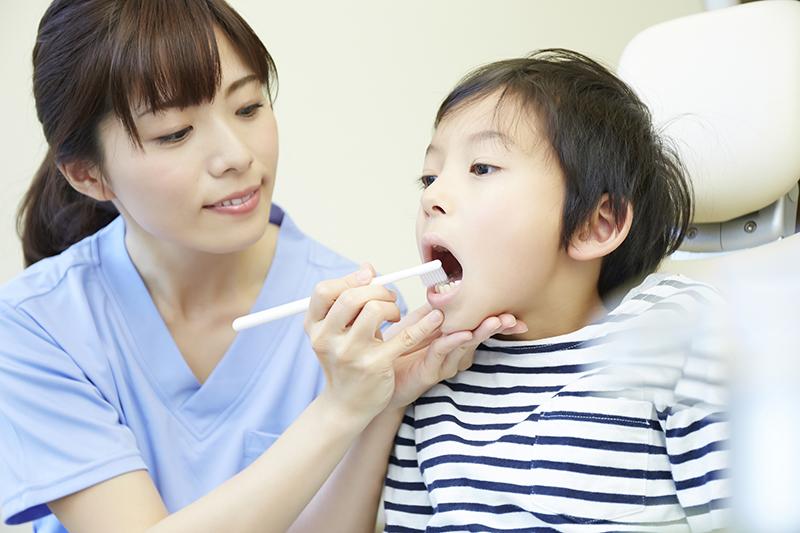 歯ブラシチェック・ブラッシング指導